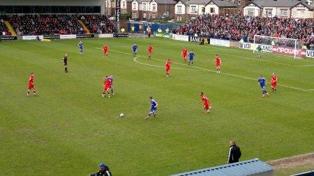 Macclesfield Town v Crewe Alexandra